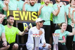 Ganador, Lewis Hamilton, Mercedes AMG F11