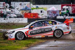 Tim Slade, Brad Jones Racing Holden runs out