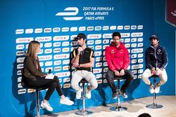 Nicki Shields interviews Jean-Eric Vergne, Techeetah, Lucas di Grassi, ABT Schaeffler Audi Sport & N