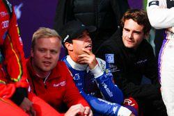 Felix Rosenqvist, Mahindra Racing; Antonio Felix da Costa, Amlin Andretti Formula E Team; Tom Dillma