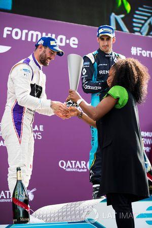 Jose Maria Lopez, DS Virgin Racing; Sébastien Buemi, Renault e.Dams