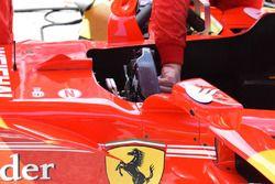 Ferrari SF70H stuurwiel detail