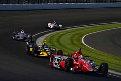 Graham Rahal, Rahal Letterman Lanigan Racing, Honda; Sage Karam, Dreyer & Reinbold Racing, Chevrolet