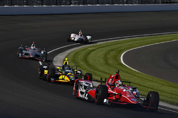 Graham Rahal, Rahal Letterman Lanigan Racing Honda, Sage Karam, Dreyer & Reinbold Racing Chevrolet,