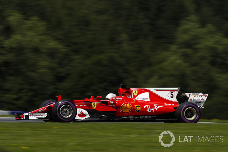 Gewinner: Sebastian Vettel (Ferrari)