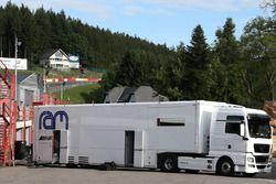 Ram Racing transporter