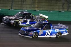 Austin Cindric, Brad Keselowski Racing Ford y Jordan Anderson, Rick Ware Motorsports Chevrolet