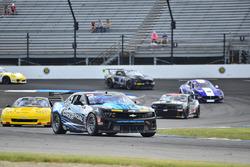 #22 TA4 Chevrolet Camaro, Mel Shaw, TRB Autosport