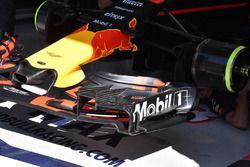 Red Bull Racing RB13 detail van de voorvleugel
