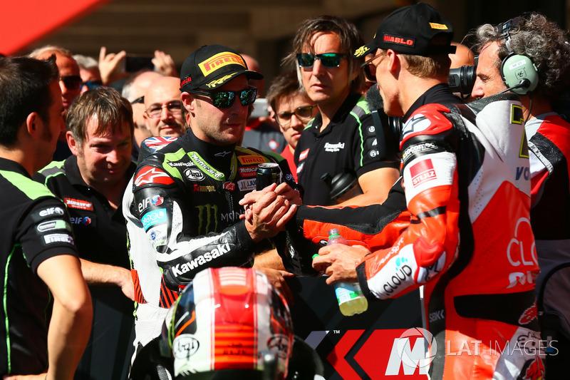 Jonathan Rea, Kawasaki Racing, Chaz Davies, Ducati Team