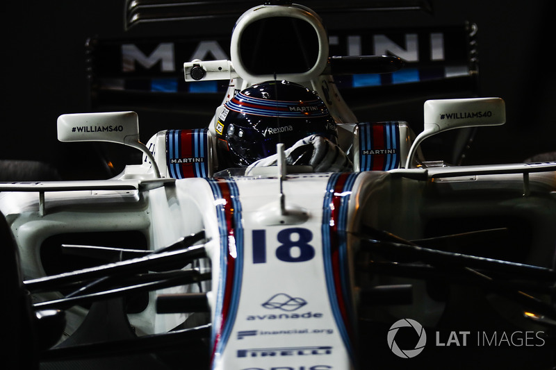 18. Lance Stroll, Williams FW40