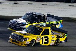 Cody Coughlin, ThorSport Racing Toyota and Josh Reaume, WCIparts.com Chevrolet Silverado