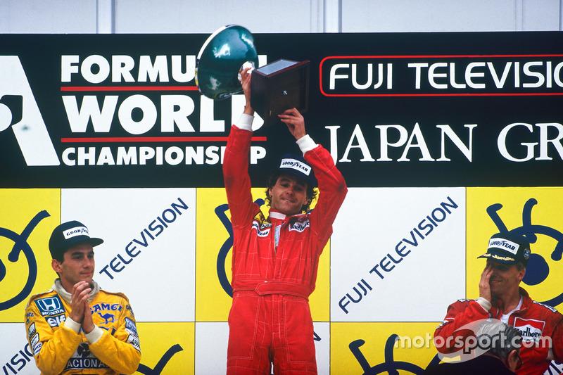 Gerhard Berger (5 vitórias)