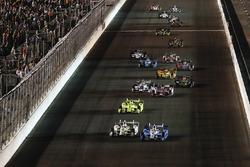 Josef Newgarden, Team Penske Chevrolet, Helio Castroneves, Team Penske Chevrolet