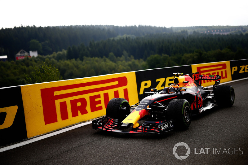 Max Verstappen's race comes to an end