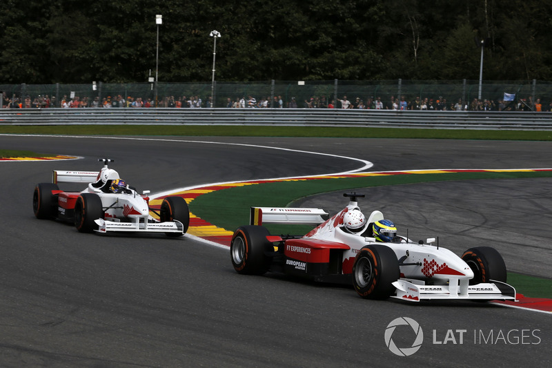 Zsolt Baumgartner, F1 Experiences 2-Seater driver and Patrick Friesacher, F1 Experiences 2-Seater driver