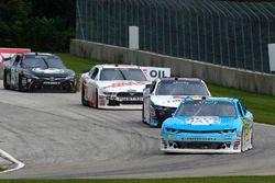 Daniel Hemric, Richard Childress Racing Chevrolet e William Byron, JR Motorsports Chevrolet