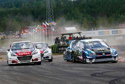 Johan Kristoffersson, Volkswagen Team Sweden, Sébastien Loeb, Team Peugeot Hansen