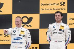 Podium: 1. Bruno Spengler, BMW Team RBM, BMW M4 DTM, 2. Maxime Martin, BMW Team RBM, BMW M4 DTM