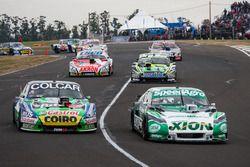 Agustin Canapino, Jet Racing Chevrolet, Gaston Mazzacane, Coiro Dole Racing Chevrolet, Mauro Giallom