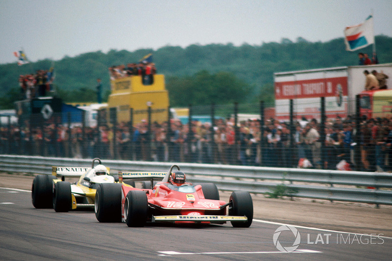 ¿El mejor duelo de la historia? Villeneuve y René Arnoux en Dijon 1979
