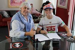 Eric Granado con Giovanni Cuzari, Forward Racing Team
