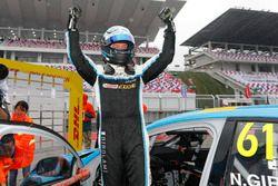Pole: Nestor Girolami, Polestar Cyan Racing, Volvo S60 Polestar TC1