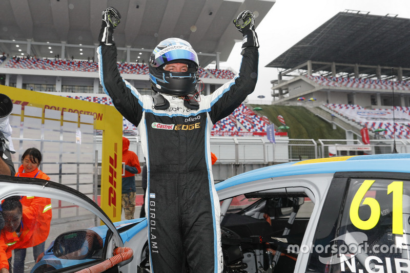 Pole position for Nestor Girolami, Polestar Cyan Racing, Volvo S60 Polestar TC1