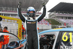 Pole position for Nestor Girolami, Polestar Cyan Racing, Volvo S60 Polestar TC1