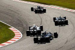 Nico Hulkenberg, Renault Sport F1 Team RS17, Kevin Magnussen, Haas F1 Team VF-17, Lance Stroll, Will