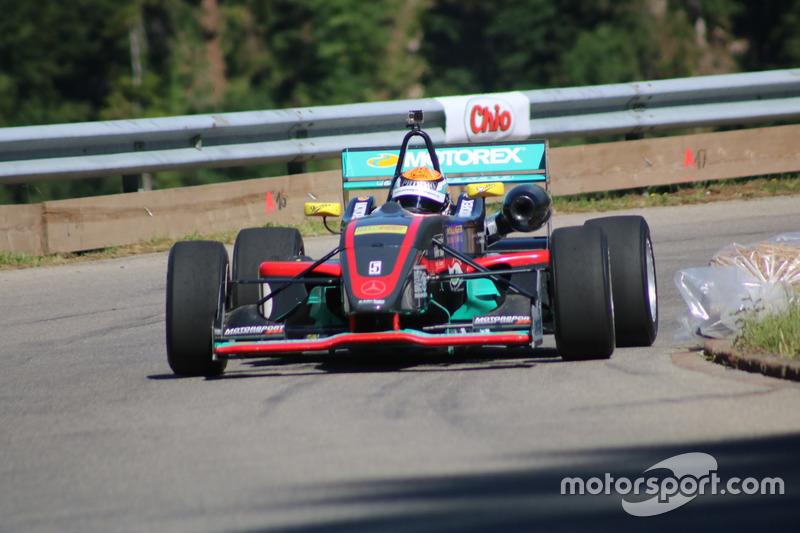 Thomas Amweg, Dallara F305/07 Mercedes, Amweg Motorsport