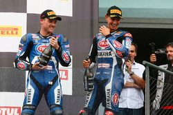 2. Alex Lowes, Pata Yamaha, 3. Michael van der Mark, Pata Yamaha