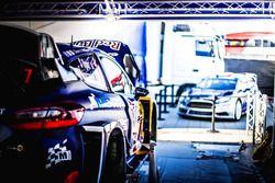 La voiture de Sébastien Ogier, Julien Ingrassia, Ford Fiesta WRC, M-Sport