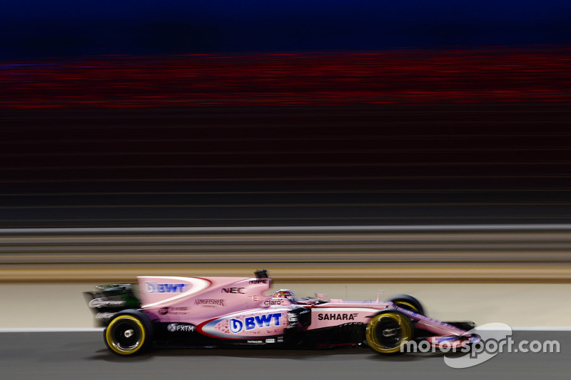 18: Sergio Perez, Force India VJM10