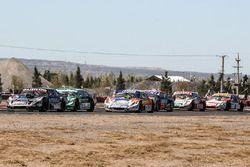 Christian Ledesma, Las Toscas Racing Chevrolet, Agustin Canapino, Jet Racing Chevrolet, Alan Ruggier