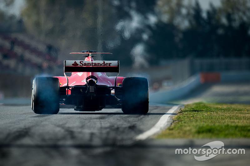 Jeudi : Sebastian Vettel, Ferrari SF70H