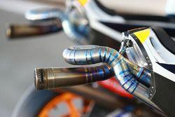 Lo scarico della Honda di Marc Marquez