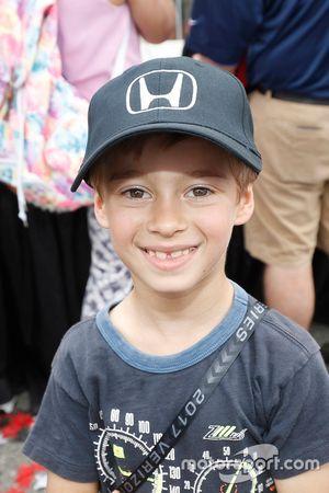 Alex Bourdais, zoon van winnaar Sébastien Bourdais, Dale Coyne Racing Honda