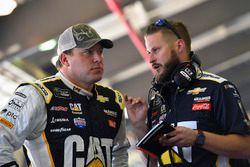Ryan Newman, Richard Childress Racing Chevrolet and Luke Lambert