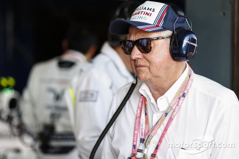 Gast in der Box von Williams F1