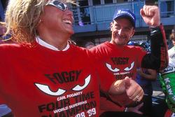 Carl y Michaela Fogarty, Ducati