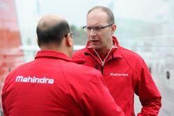 Mufaddal Choonia, Mahindra Racing SPA CEO, Davide Borghesi, Mahindra Racing, jefe de diseño y desarr