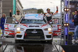 Алексей Лукьянюк и Роман Капустин, Mitsubishi Lancer Evo X