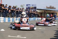 Selezione piloti Volkswagen Ameo Cup, sessioni di Kart
