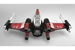 Star Wars X-Wing - Ferrari renk düzeni ile