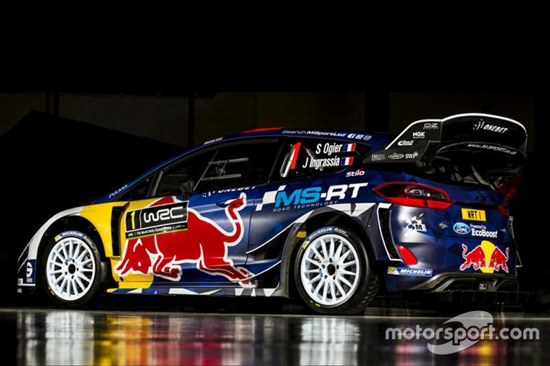 La livrée 2017 de la Ford Fiesta WRC