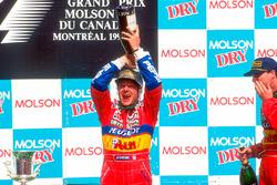 Podium : le second Rubens Barrichello