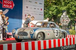 Aldo Costa e Toto Wolff, Mercedes 300 SL W 194 Prototype