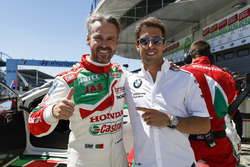 Tiago Monteiro, Honda Racing Team JAS, Honda Civic WTCC with Antonio Felix Da Costa