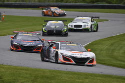 #43 RealTime Racing Acura NSX GT3: Ryan Eversley, Tom Dyer, #93 RealTime Racing Acura NSX GT3: Peter Kox, Mark Wilkins